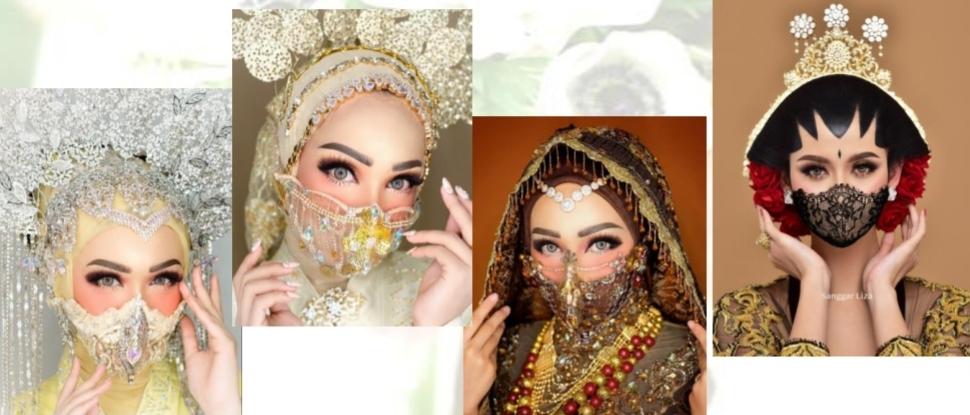 Panduan Tata Rias untuk Pernikahan di Masa New Normal (Sumber foto : Buku Panduan Indonesia Wedding Association Alliance)