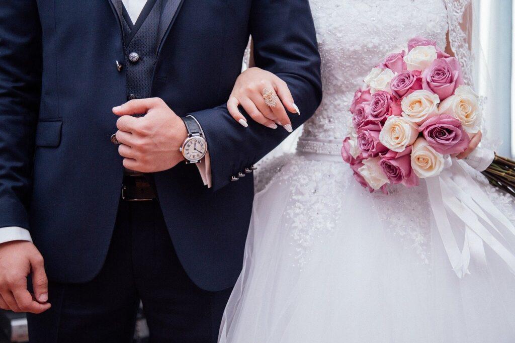 Ilustrasi pernikahan (Gambar oleh StockSnap dari Pixabay)