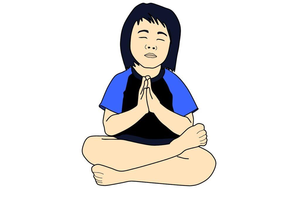 Menanamkan Kebiasaan Berdoa (Gambar oleh waldryano dari Pixabay)